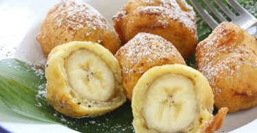 Запеченные бананы в духовке