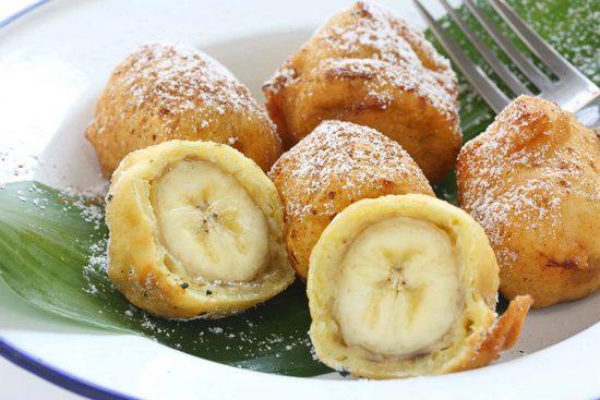Бананчик в тесте
