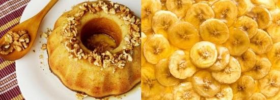 Десерт из творога с бананом