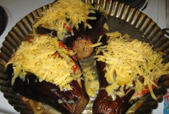 Баклажан веером в духовке: рецепт традиционный