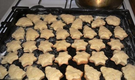 простой рецепт печенья из творога в духовке