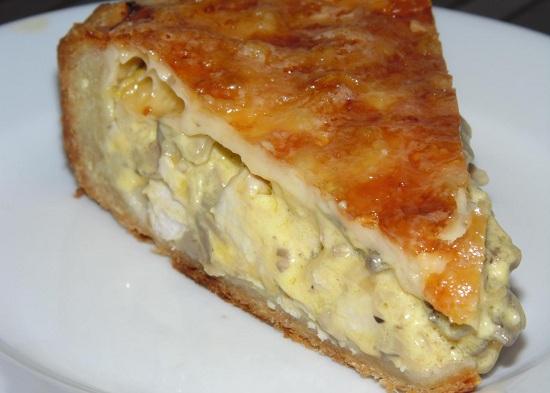 вкуснейший пирог с куриной начинкой