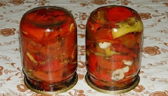 Вяленые перцы в духовке на зиму