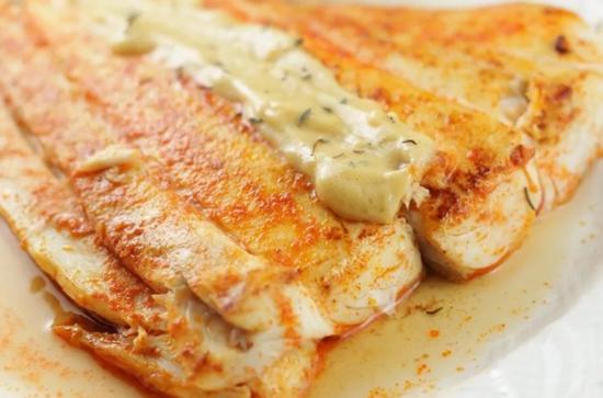 морской язык в духовке с сыром